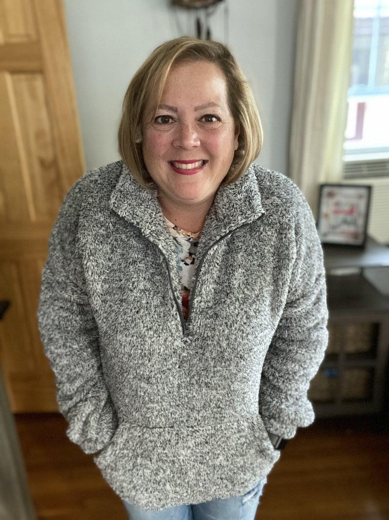 Let's Cuddle Pullover in Melange