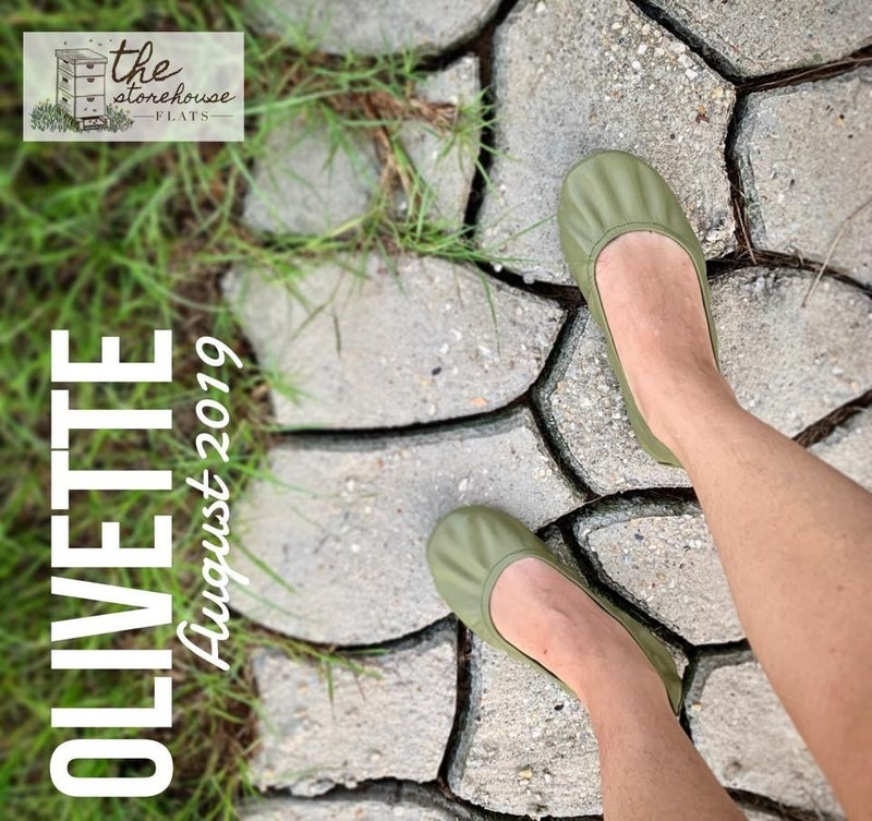 Storehouse Flats  Olivette Size 10