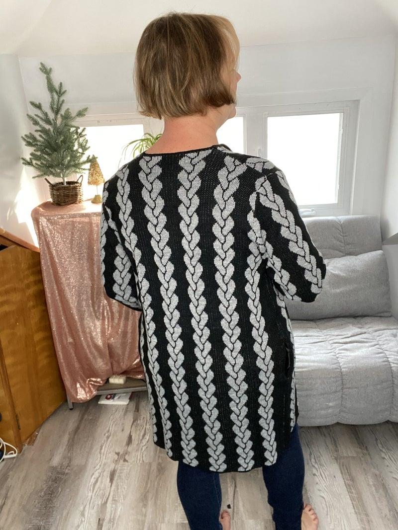 Chain of Events Sweater Cardigan