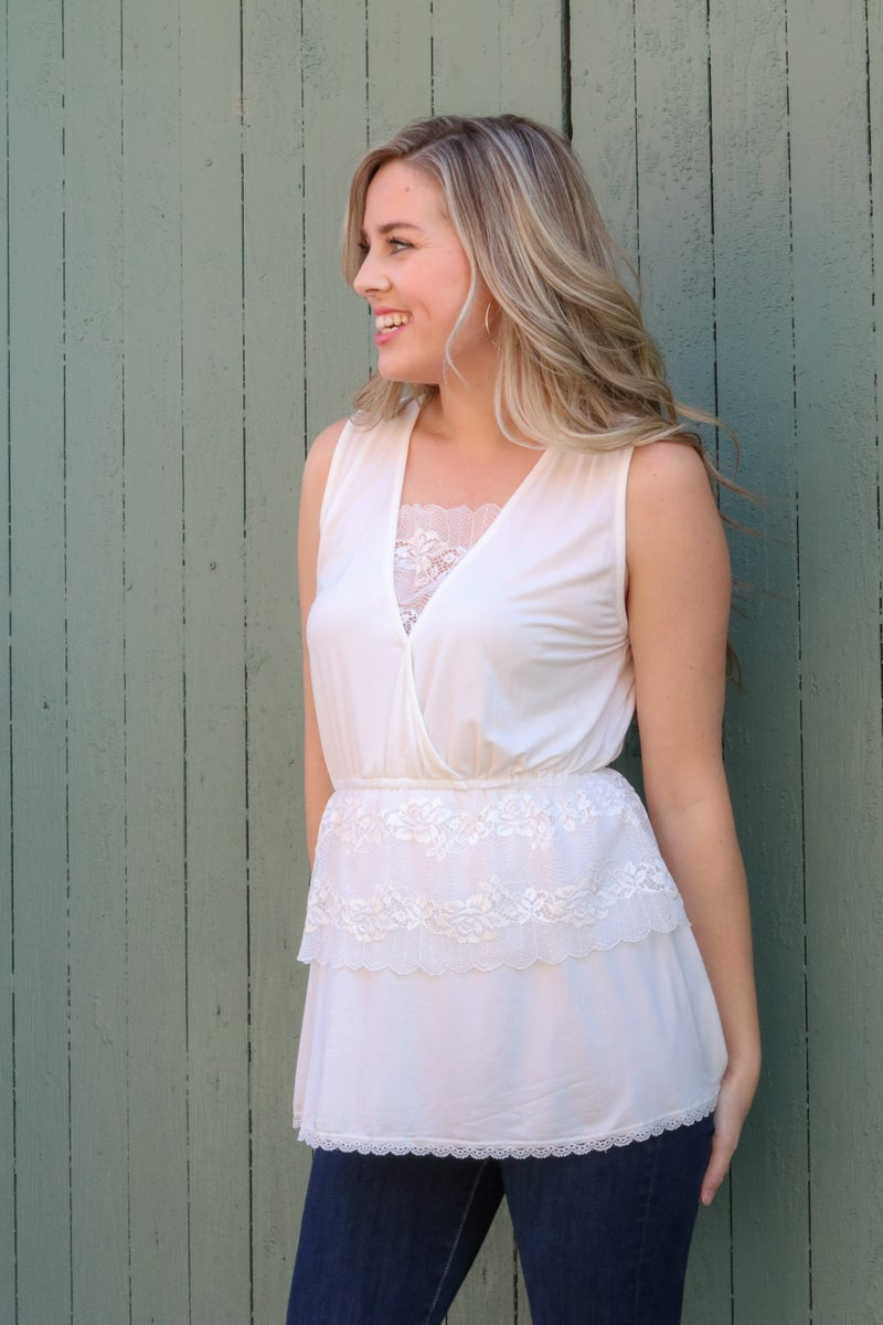 Showing Grace Sleeveless Top