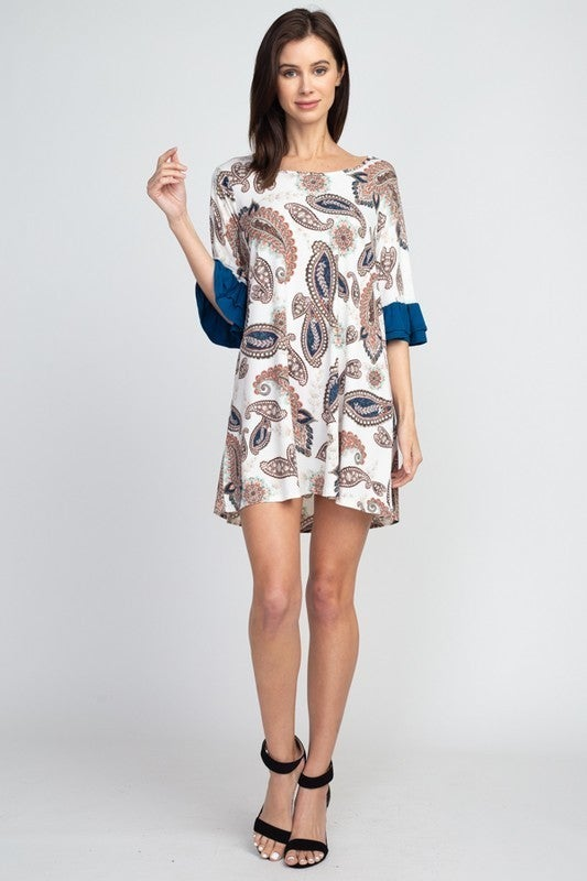 Perfect Paisley Dress