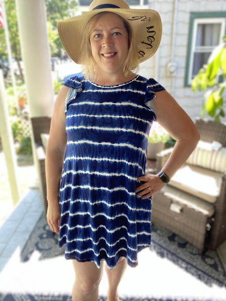 Brooklyn Ruffle Sleeve Dress