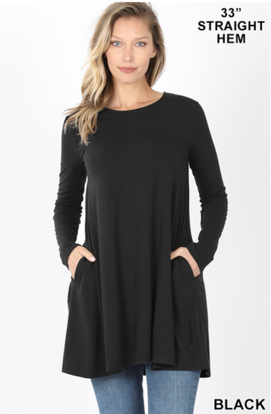 Long Sleeve Swing Tunic