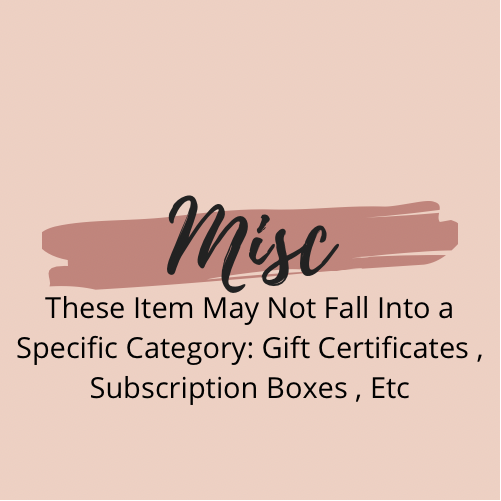 Miscellaneous Collections!
