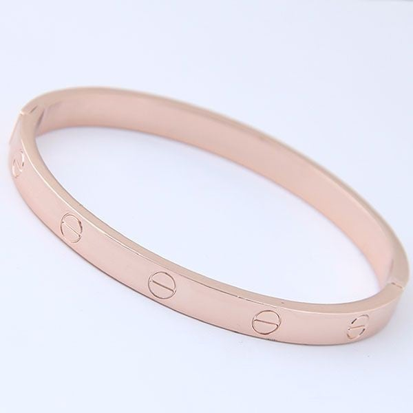 Share The Love Bangle Bracelet - Rose