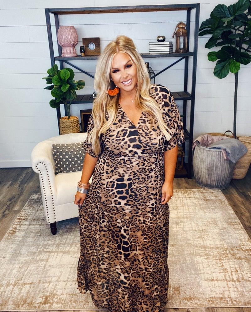 Love the Leopard Dress