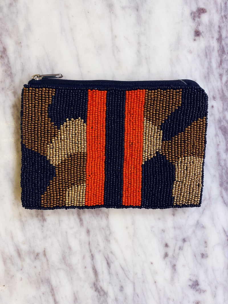 Holding On Coin Pouch - Stripe