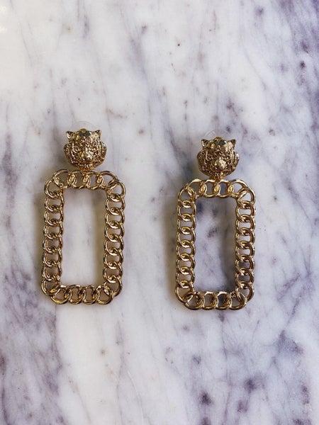 Happy Day Earrings - Gold