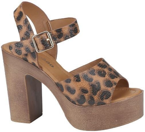 Wild Times Heeled Sandals (RUN WIDE)