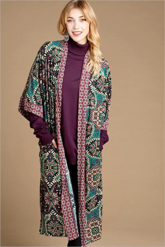 Mixed Beauty Kimono