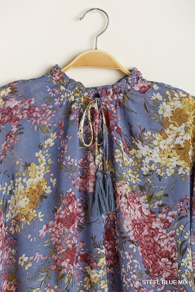 Flattering Floral Top