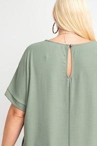 Fun and Flirty Dress-Olive