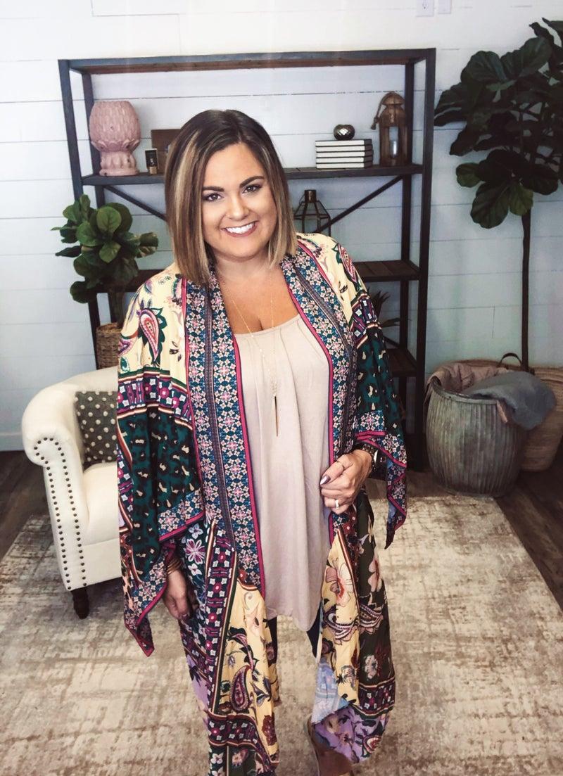 Boho Fabulous Kimono