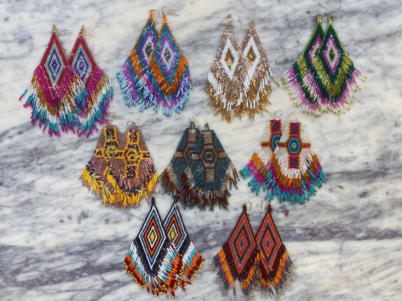Jennifer Thames - Beaded Earrings