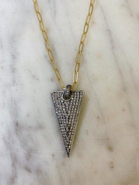 Jennifer Thames Short Dagger Necklace