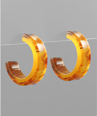 Sling Your Hoops Earrings