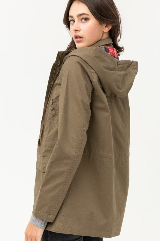 Utilize This Utility Jacket - Olive