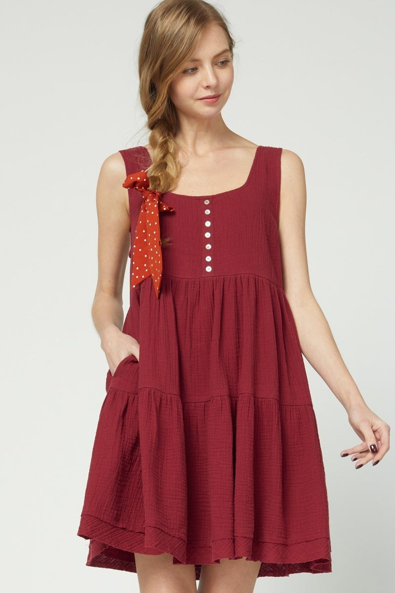 On Solid Ground Dress