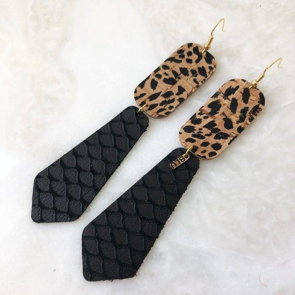Black Magic Earrings
