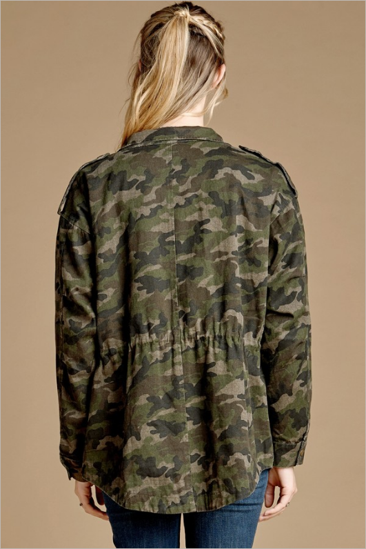 Nothing To Hide Camo Jacket