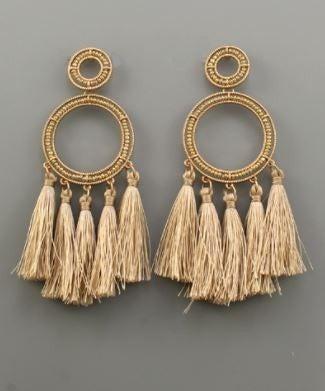 Shake Things Up Earrings - Gold