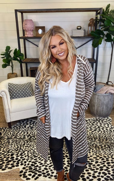 Dainty Stripes Duster