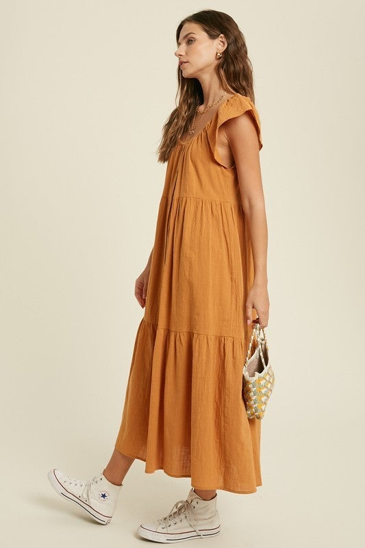 Thinking About You Dress - Amber