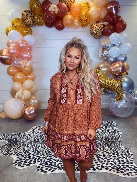 Enchantingly Adorable Hippie Dress