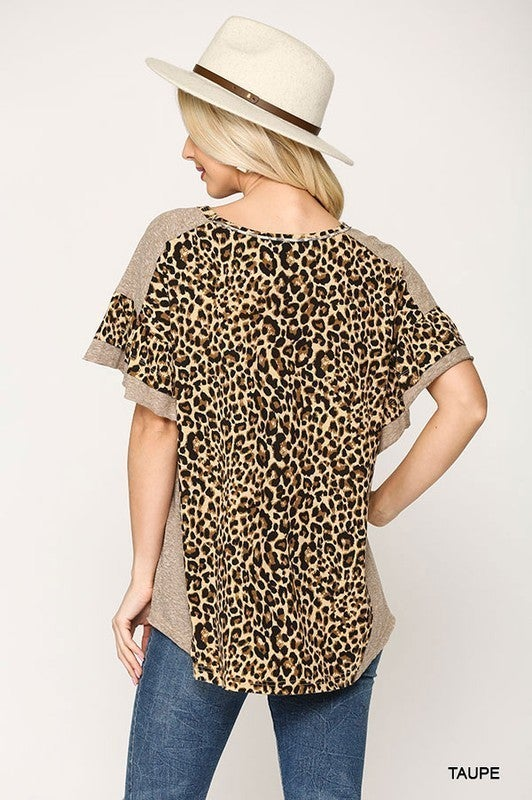 Slay The Day Top - Taupe