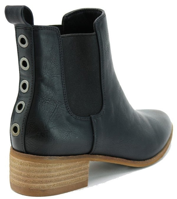 My Stomping Ground Booties - Black