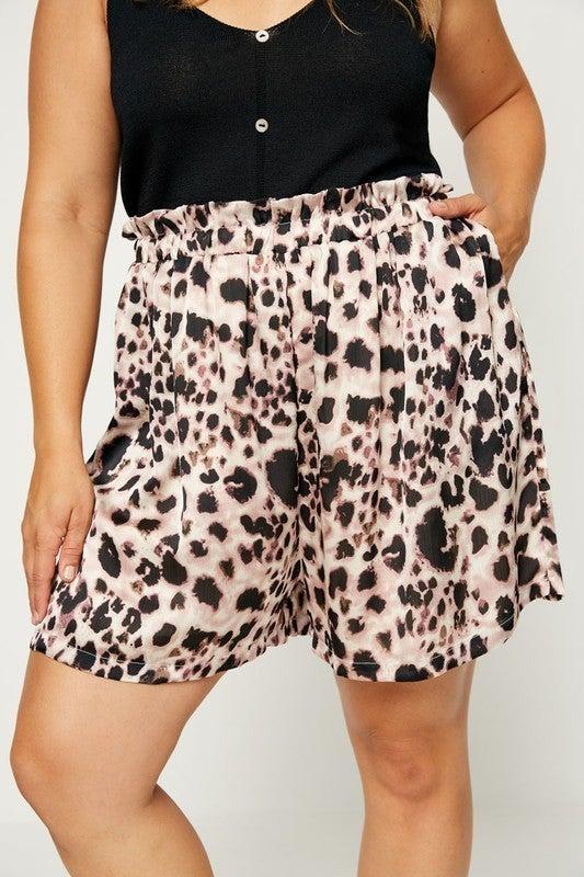 All The Leopard Fun Shorts