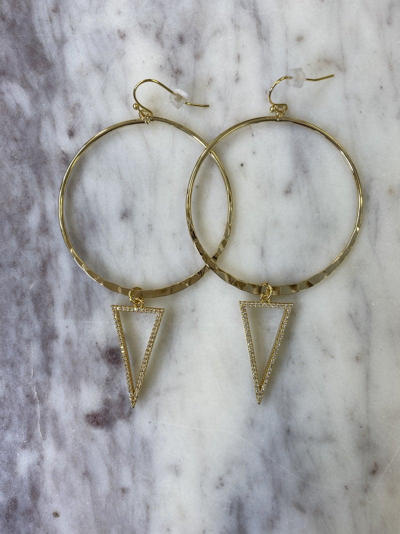 Jennifer Thames - On Point Earrings