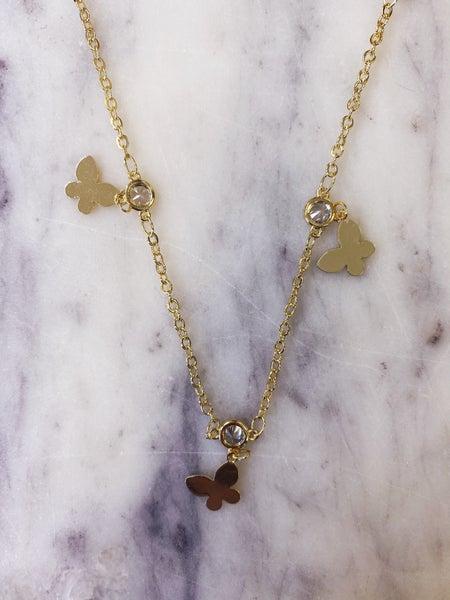 Jennifer Thames - Butterfly Necklace