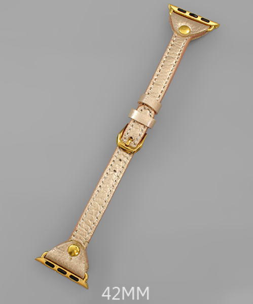 Shine On Time Smartwatch Band 42mm - Gold