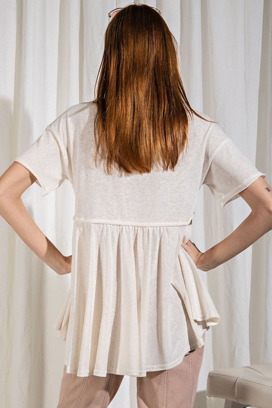 Forget Me Not Top - Off White