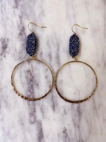 Jennifer Thames - Sparkle and Shine Earrings