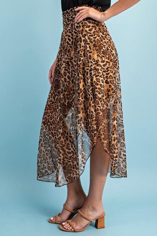 Breathtakingly Beautiful Leopard Skirt