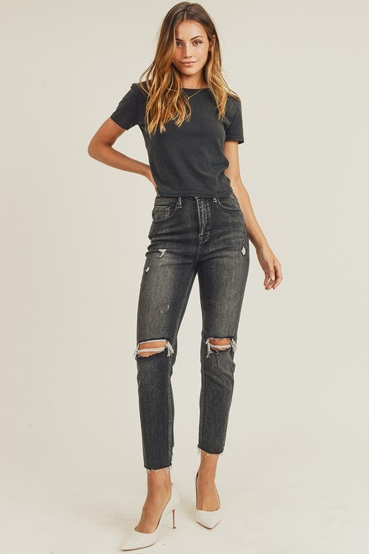 All Rise Relaxed Skinny Jeans ( Size down 1 size)