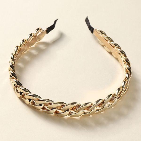 Twist Hair Band - Gold