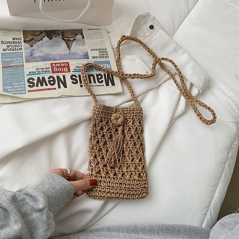 Fashion Forward Messenger Bag - Khaki