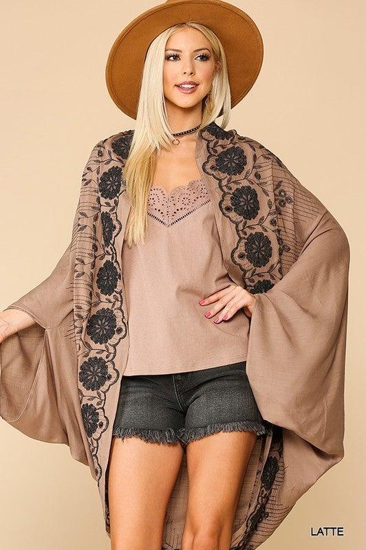 Beauty In Detail Cocoon Kimono