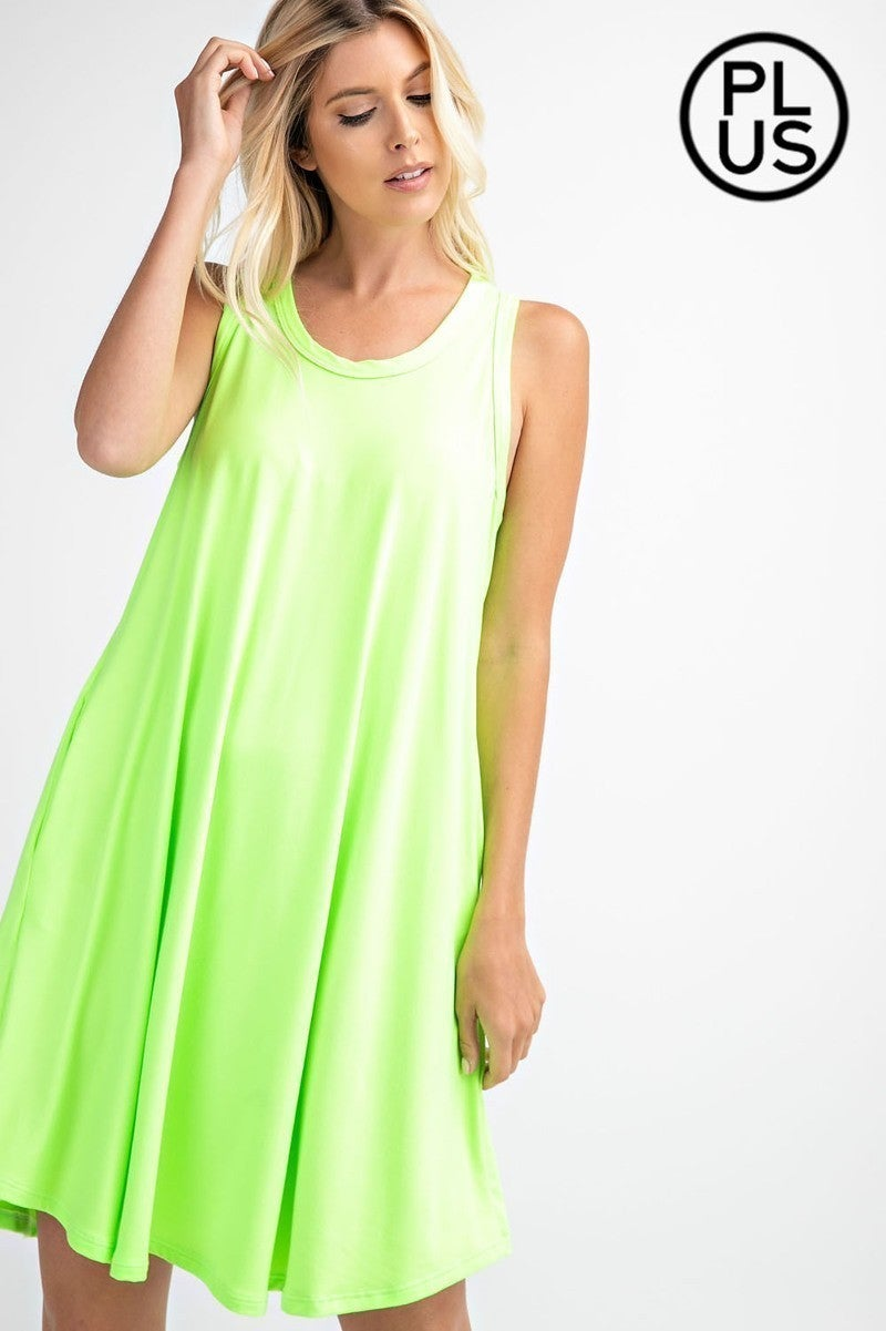 Neon Moon Dress