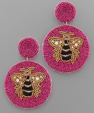 Bee Happy Earrings