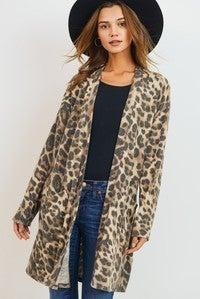 Wild Times Leopard Cardigan