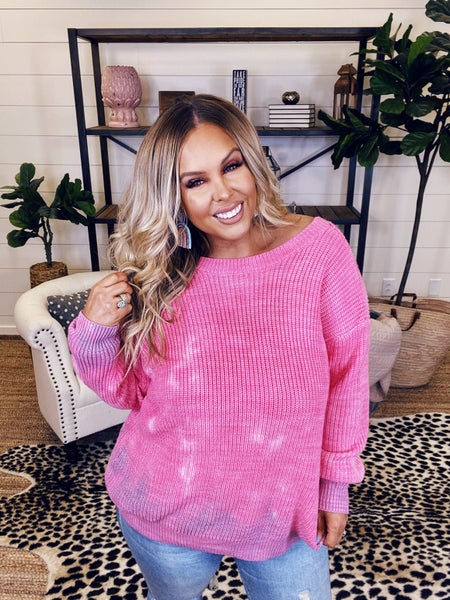 Love You to Pieces Sweater Top