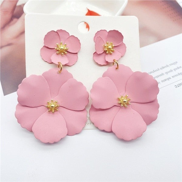 Bright Days Ahead Earrings - Pink
