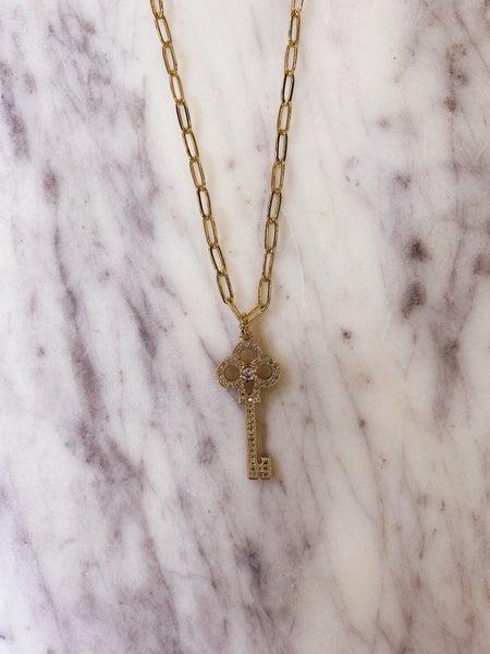 Jennifer Thames - Key Necklace