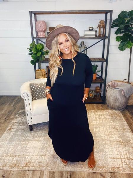 Simply Sensational Dress - Black