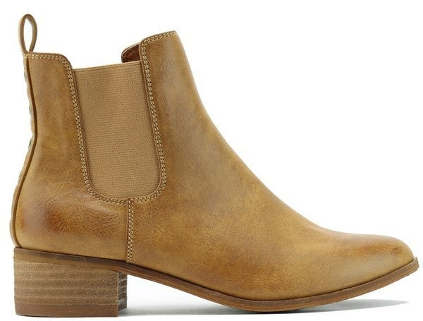 My Stomping Ground Booties - Camel