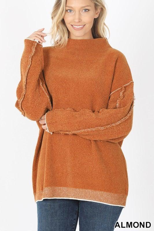 Don't Mock Me Sweater - Almond
